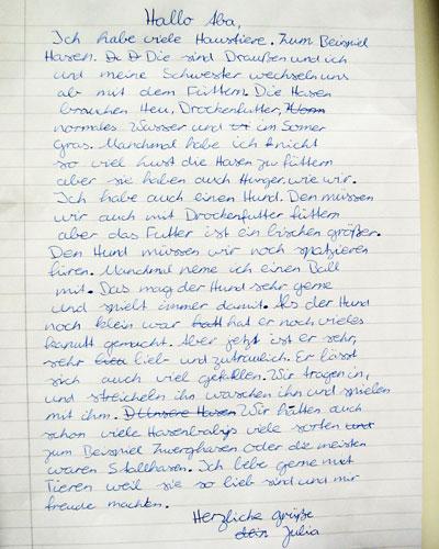 Brief Schreiben An Freundin Cmgdigitalstudios
